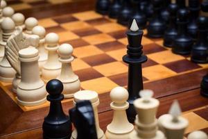 schaakspel foto