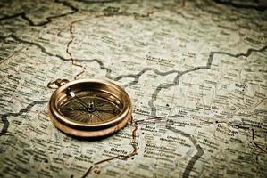 vintage kompas foto