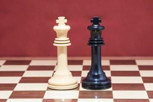 koning schaken foto