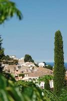 mediterraan uitzicht foto