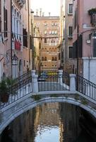 italië, venetië, de stad aan het water, foto