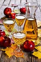 appel drinken foto