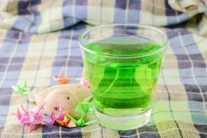 groen drankje foto