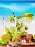 zomer drankje foto