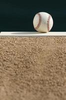 honkbal - heuvel van de werper foto