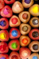 abstracte kleurrijke achtergrond foto