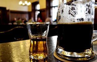bier en drinken foto