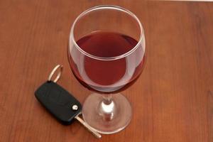 drinken en rijden foto