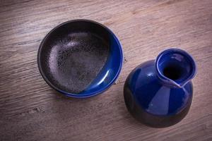Japanse sake drinkset foto