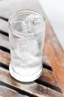 drinkwater en ijs foto