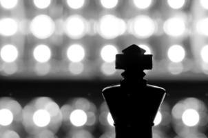 silhouet koning foto