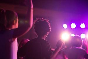 dansen in de disco foto