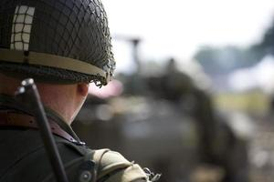 Amerikaanse soldaat foto