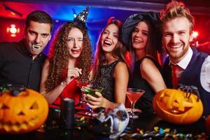 halloween vrienden foto