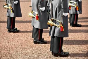 militair orkest uniform foto