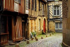 middeleeuwse huizen foto