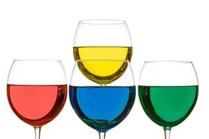 kleurrijke drankjes foto