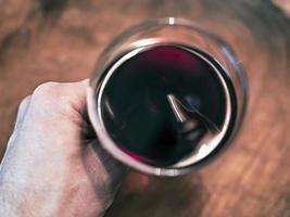 wijn drinken foto