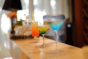 cocktail drankjes foto