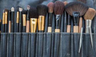 professionele make-upborstels foto