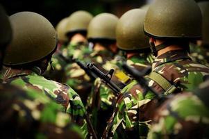 peloton klaar voor oorlog foto