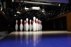 bowling pinnen foto