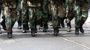 soldaten voorbereiding foto
