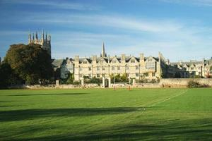 merton college, oxford university, engeland foto