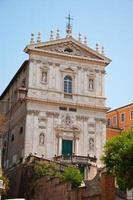 de kerk van santi domenico e sisto. Rome, Italië. foto