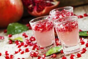 koolzuurhoudende verfrissende granaatappeldrank