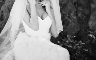 mooie witte jurk