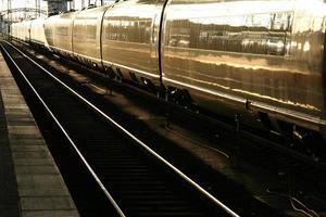 trein achterin verlicht