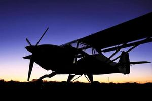 bush vliegtuig avontuur foto