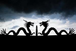 dubbele draken