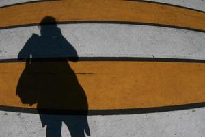 vrouwen silhouet foto