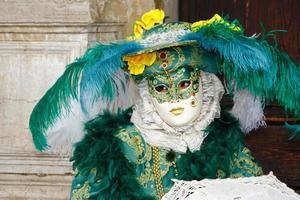 masker in Venetië foto