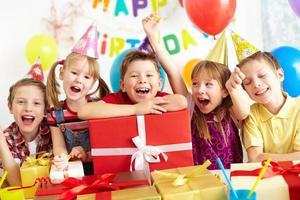 Gelukkige kinderen foto