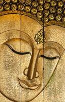 gezicht Boeddha foto