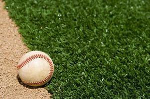 gebruikt honkbal foto