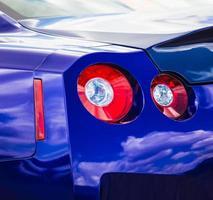 achterlicht sportwagen foto