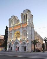 basiliek van Notre-Dame de Nice foto