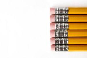 potloden met kopie ruimte foto