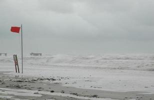 orkaan met kopie ruimte foto