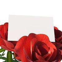 cadeaubon toont tekstruimte en kopiëren foto