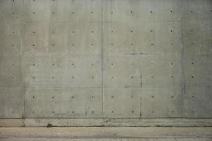 betonnen muur en cementvloer voor kopie ruimte foto