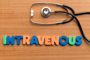 intraveneus foto