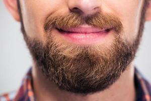 mannelijk gezicht foto