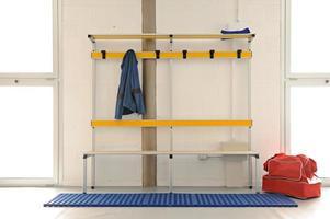 sportschool kleedkamer foto