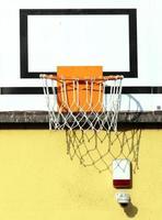 basketbal hoepel foto