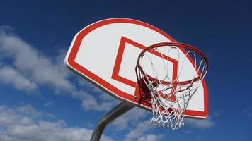 basketbal doel foto
